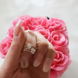 18k Gold Plated Flower fashion Ring